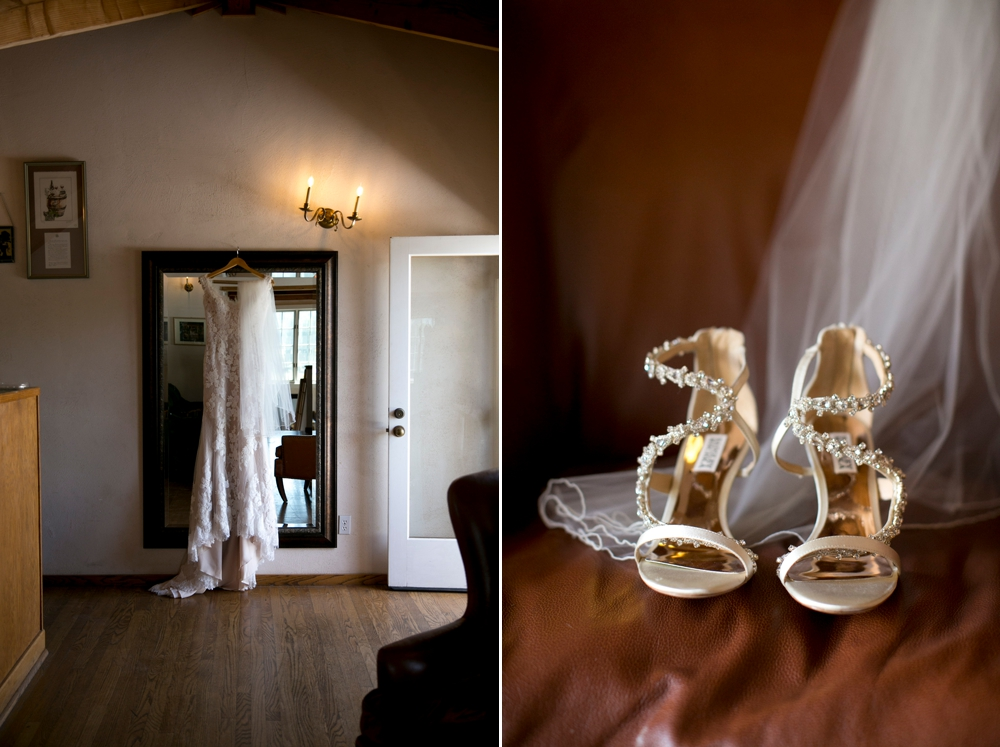 hanging_dress_wedding_shoes