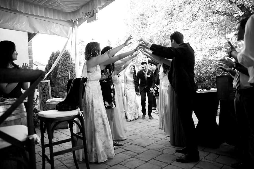 bride-and-groom-enter-reception
