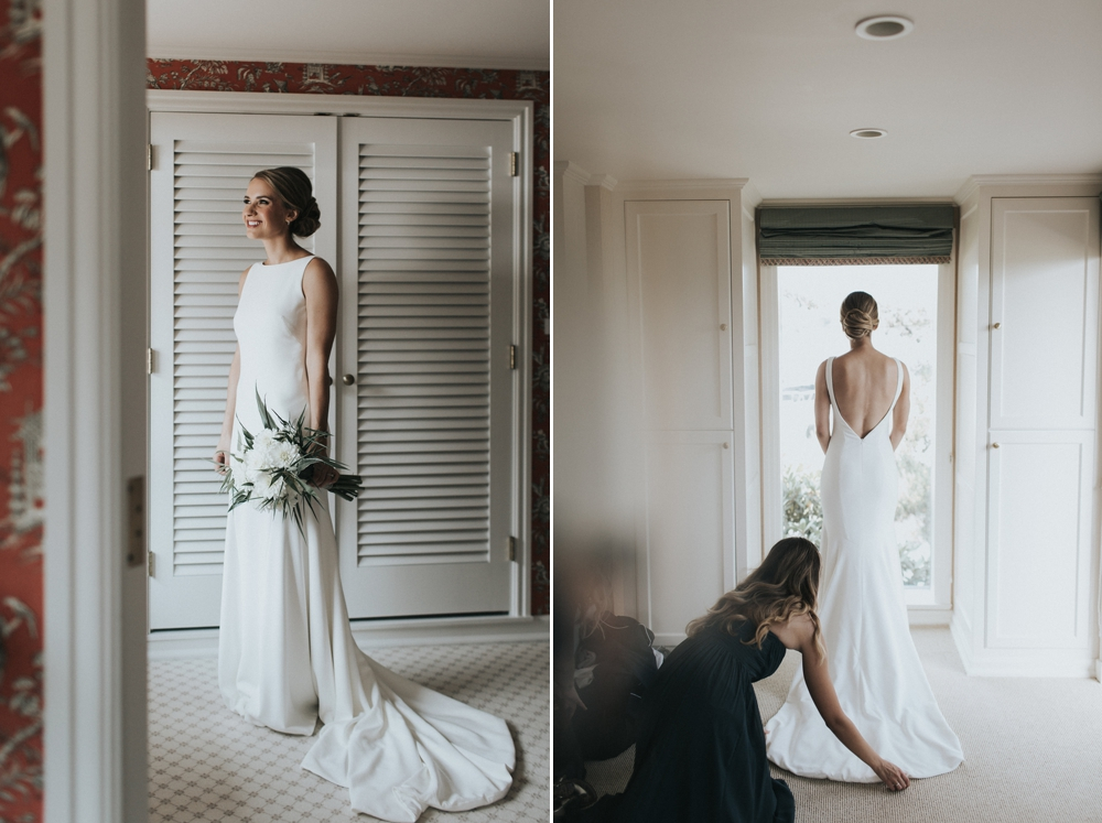 bridesmaid-looking-out-the-window