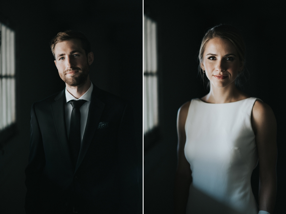 bride-and-groom-in-low-light