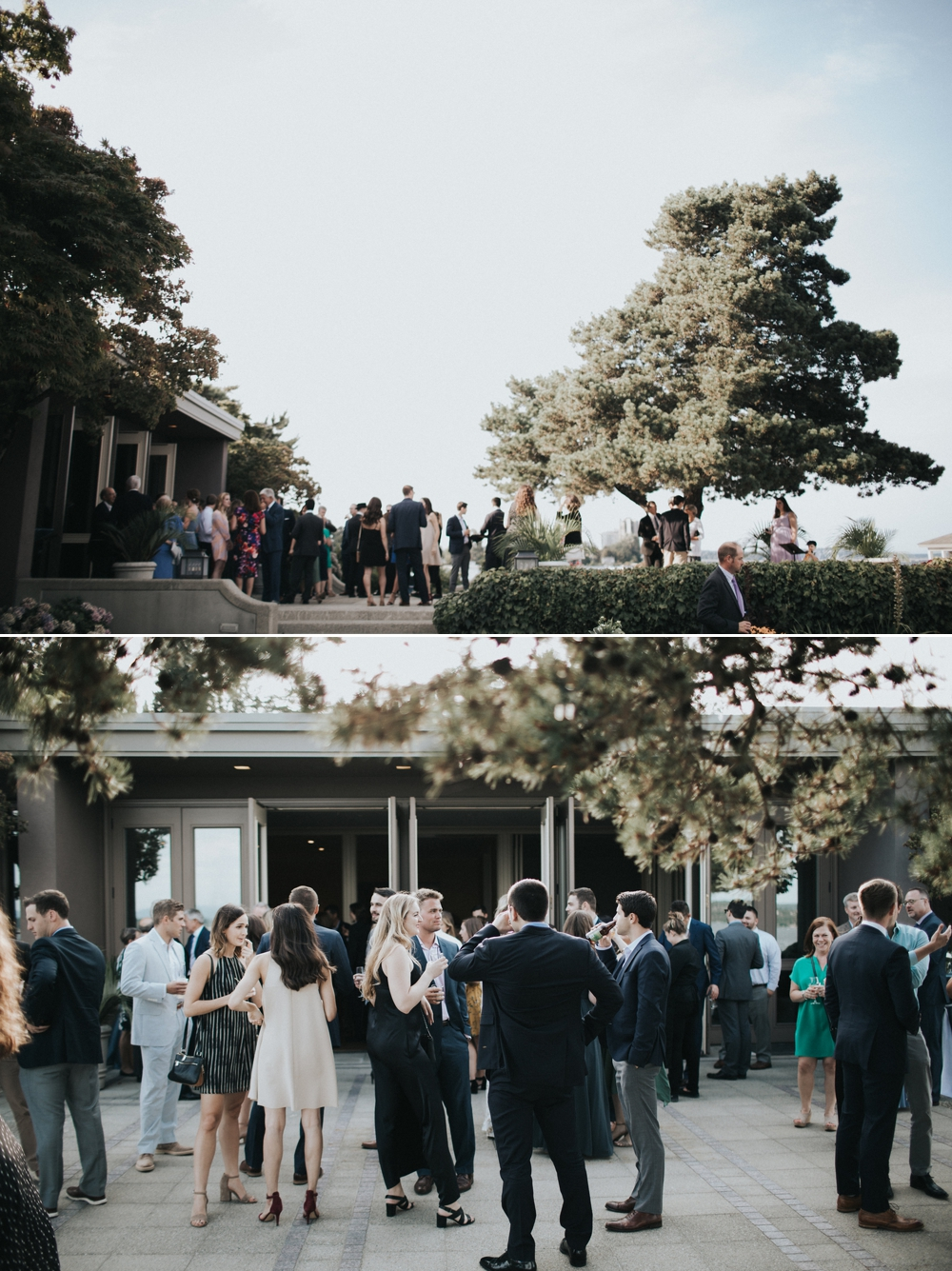 cocktail-hour-at-a-seattle-waterfront-wedding