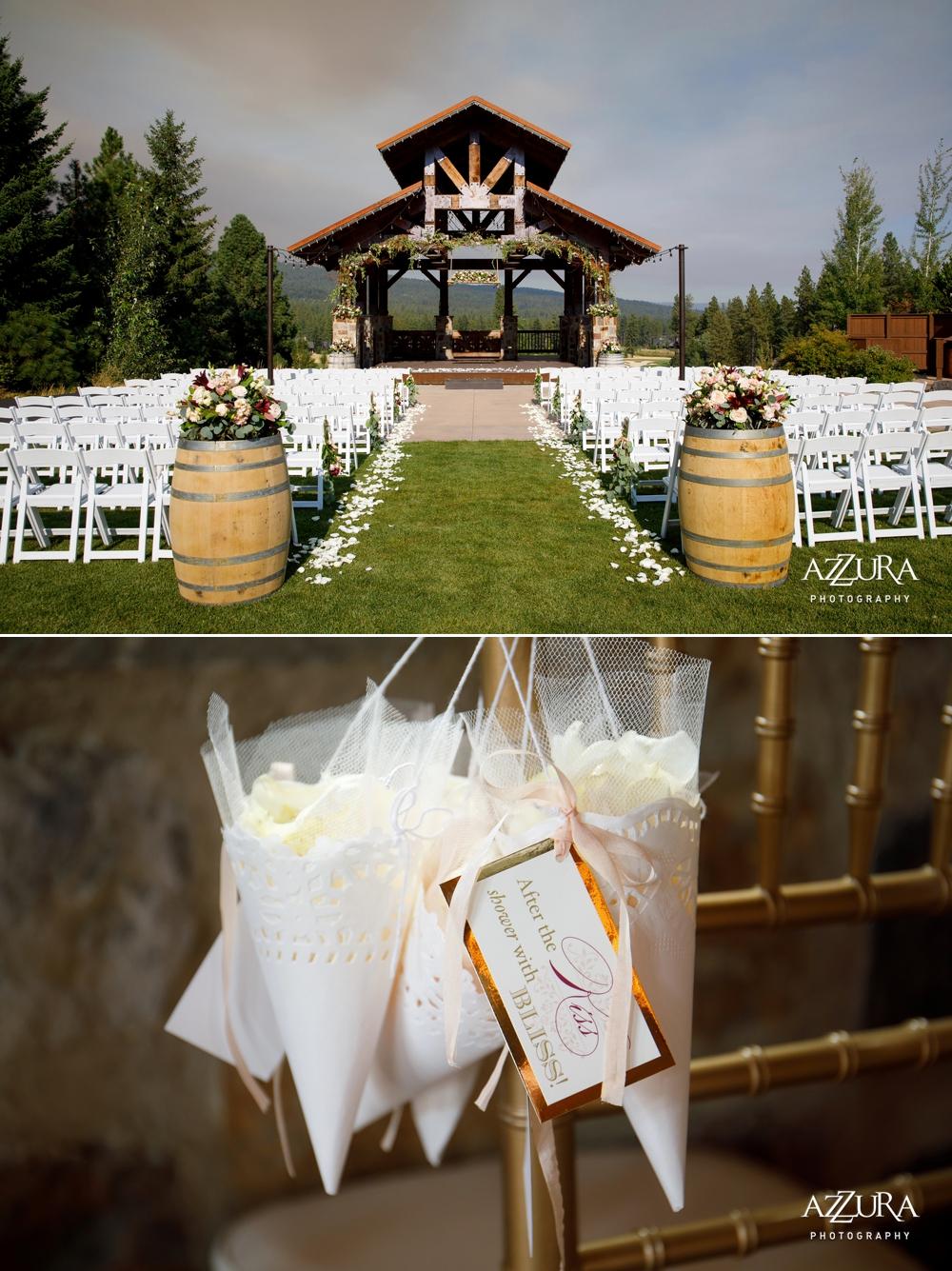 wedding-ceremony-site-and-flower-petals