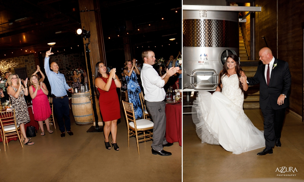 bride-and-groom-make-their-entrance