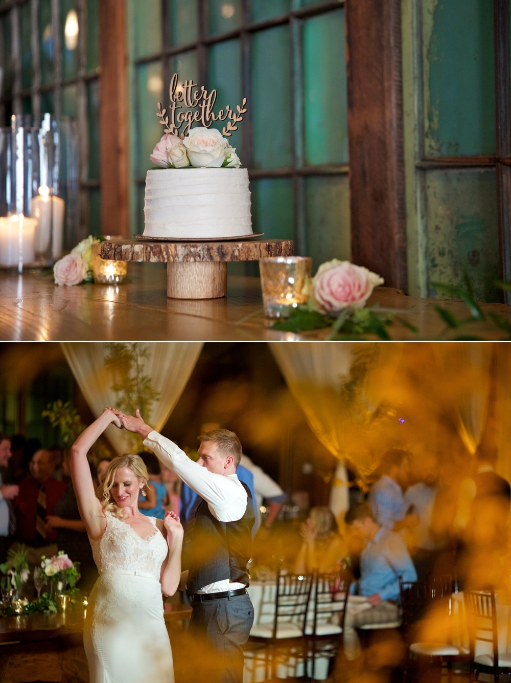 wedding-cake-and-first-dance