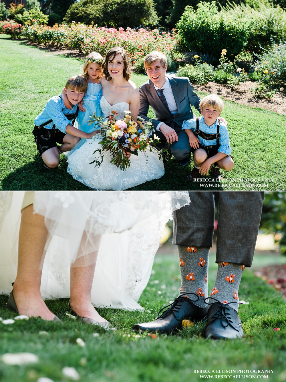 bride-and-groom-with-kids