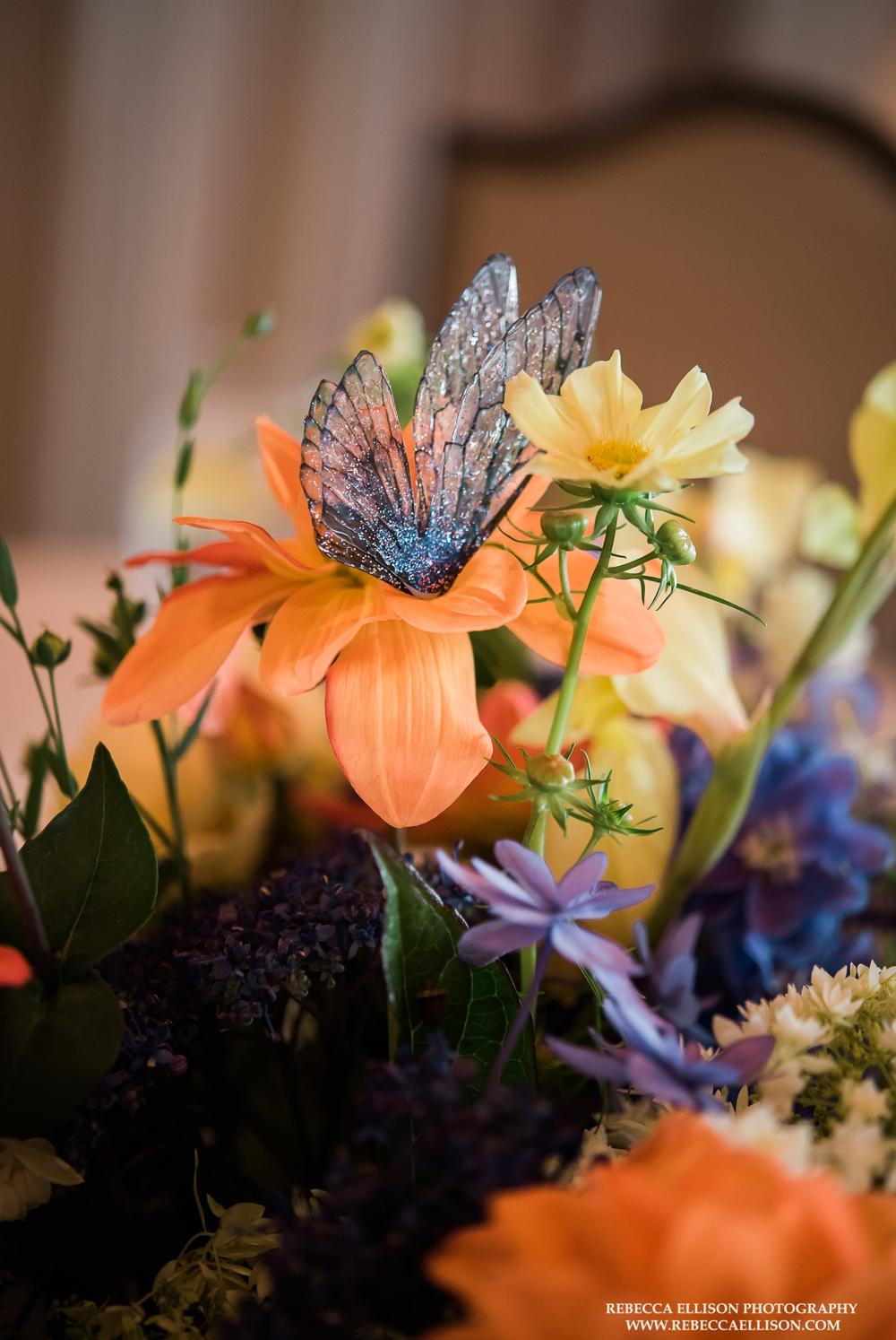 butterfly-flower-detail