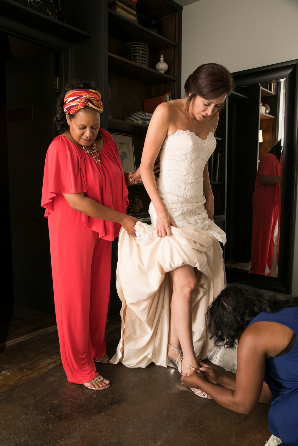 bride-stepping-into-shoes