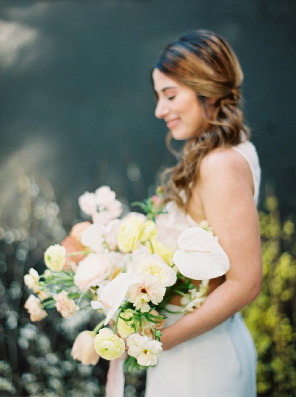 bride-holding-large-bouquet