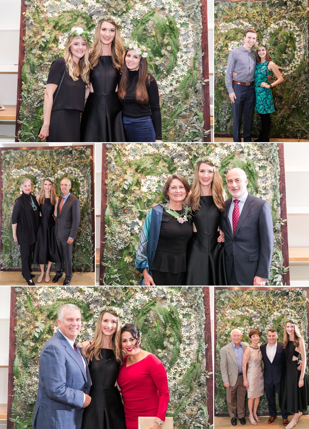 birthday-guests-in-front-of-floral-wall