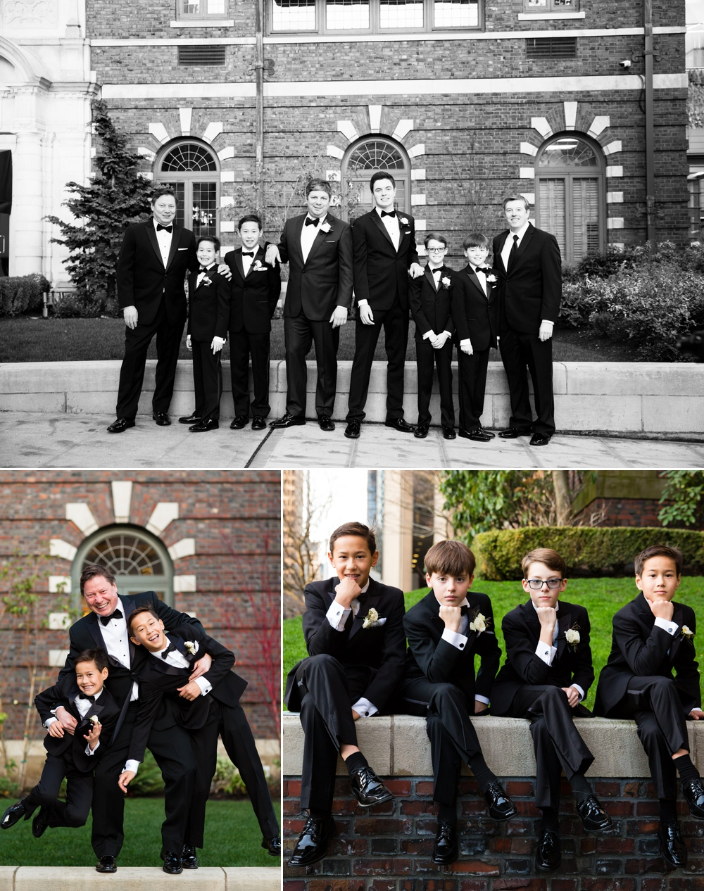 groom-with-groomsmen-and-sons