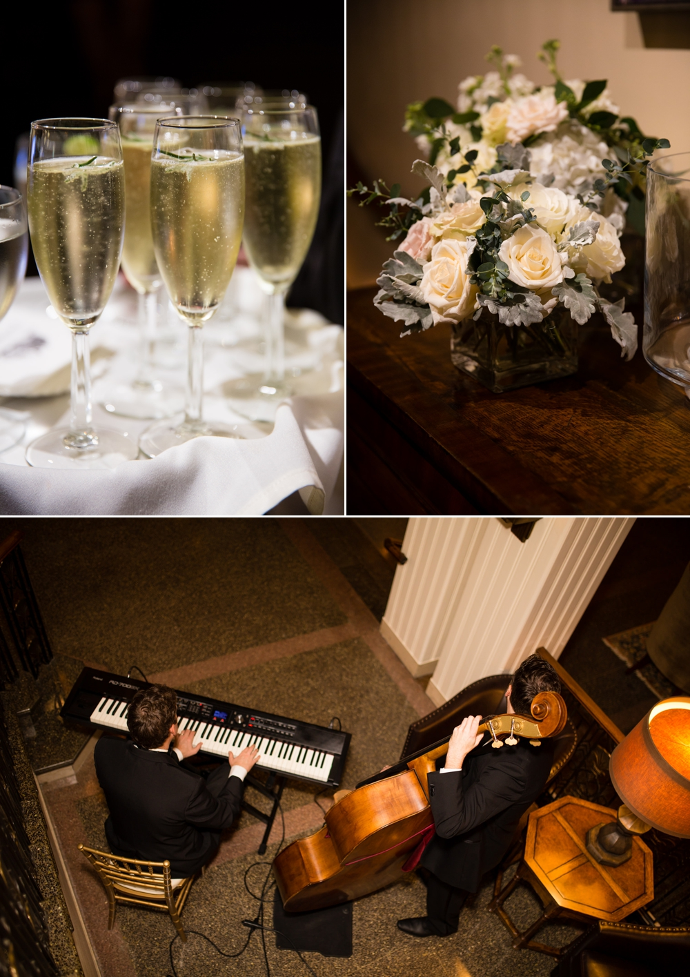 champagne-bouquet-and-live-music