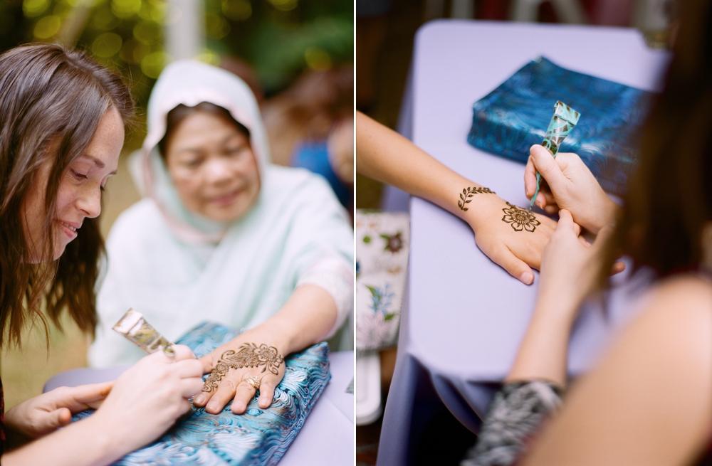 henna-application