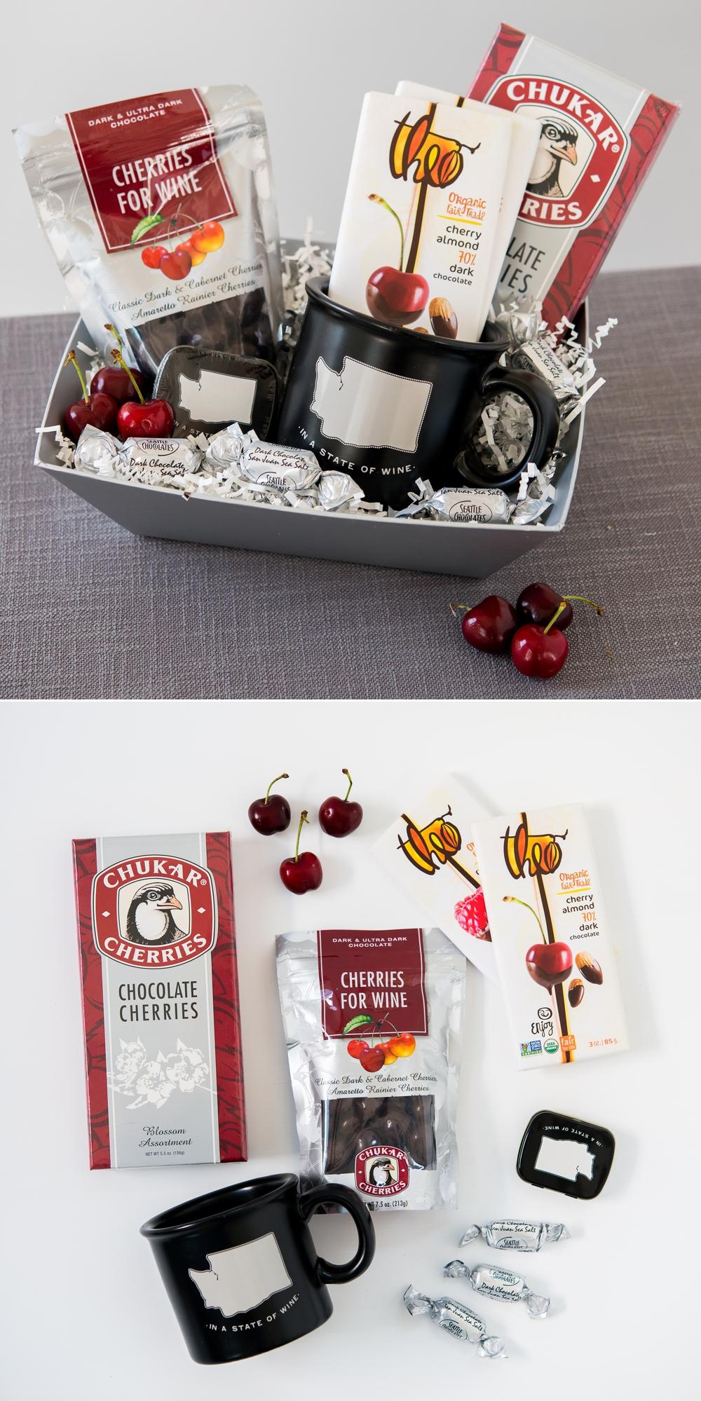 Chukar Cherries, Theo Chocolates, Seattle Chocolates