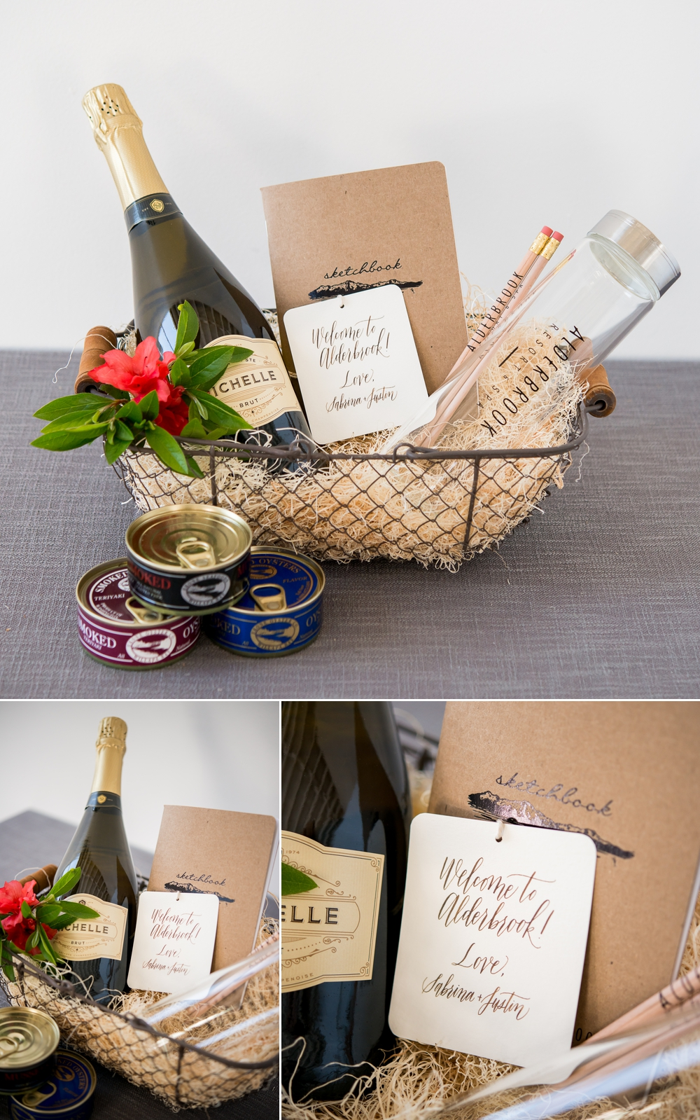 Letters by Ellen, Alderbrook Resort and Spa, Chateau Ste. Michelle Winery and Ekone Oyster Company