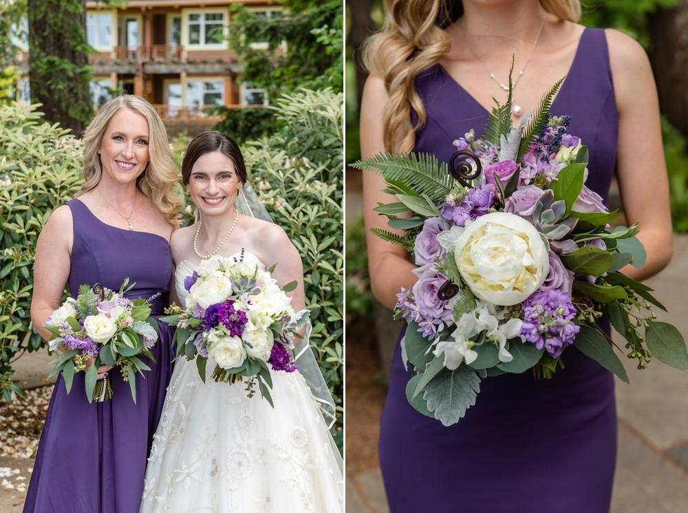bride-and-bridesmaid-purple